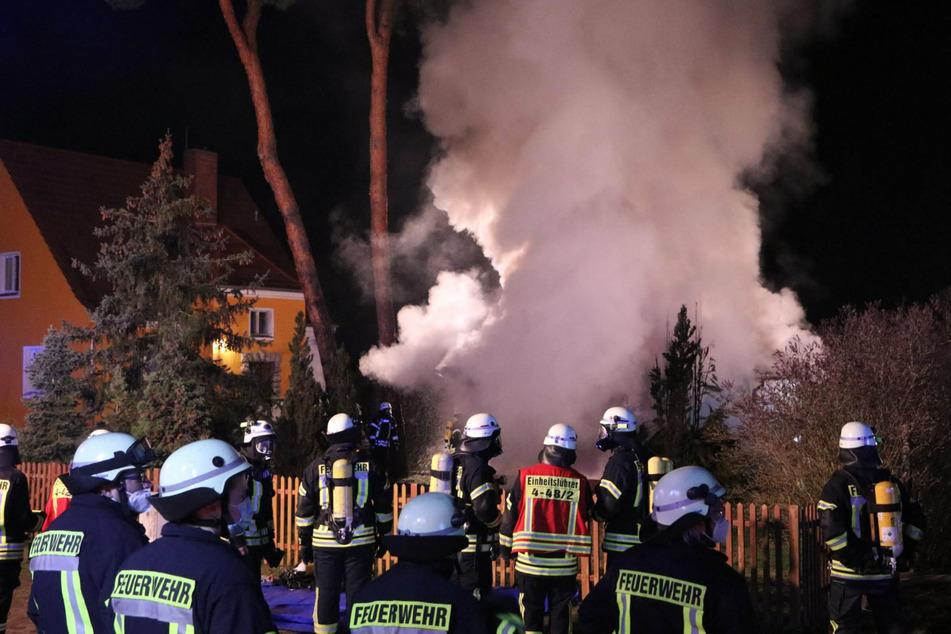 Mehrere Verletzte bei Bungalow-Brand in Brandenburg