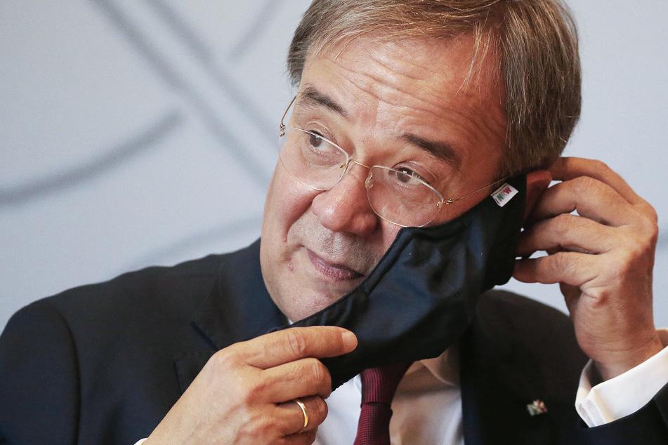 Hinweis auf Gefahr: Polizeieinsatz bei Ministerpräsident Armin Laschet