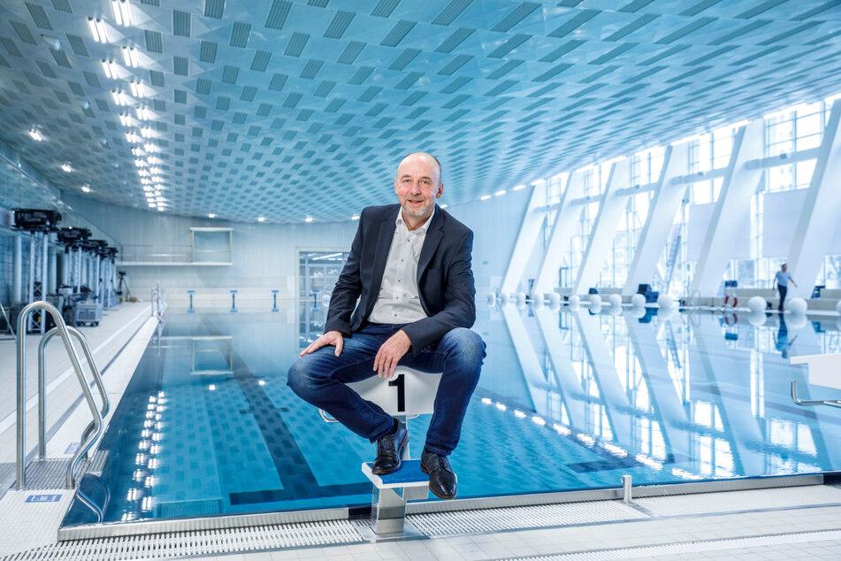 Bäder-Chef Matthias Waurick (58) muss strenge Hygienekonzepte umsetzen.