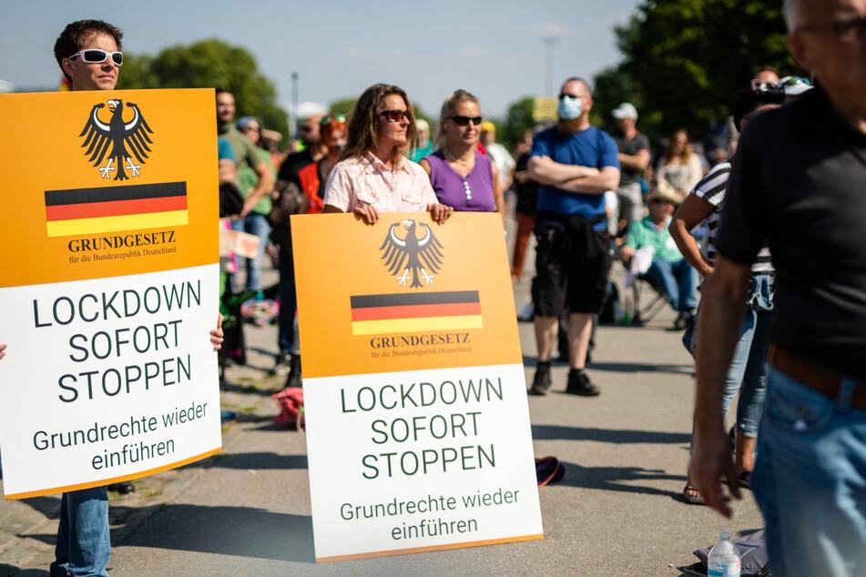 Mehrere Tausend Teilnehmer bei Demo gegen Corona-Auflagen erwartet