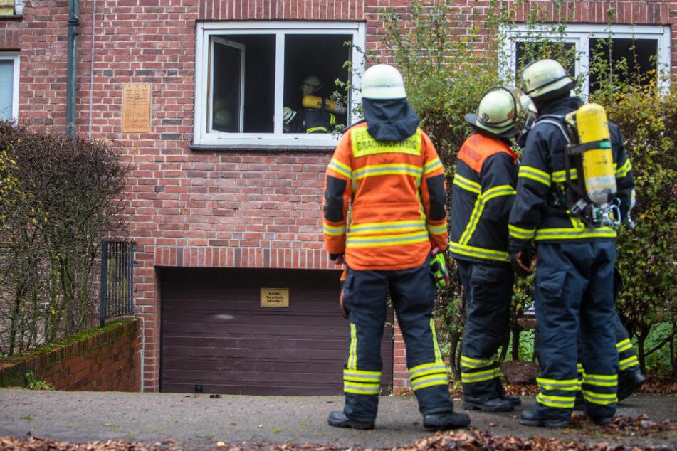 Es war schon zu spät: Feuerwehr findet verbrannte Leiche in Wohnung
