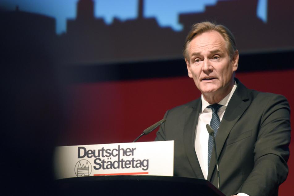 Leipzigs Oberbürgermeister Burkhard Jung (SPD) ist seit Juni vergangenen Jahres Präsident des Deutschen Städtetags. (Archivbild)