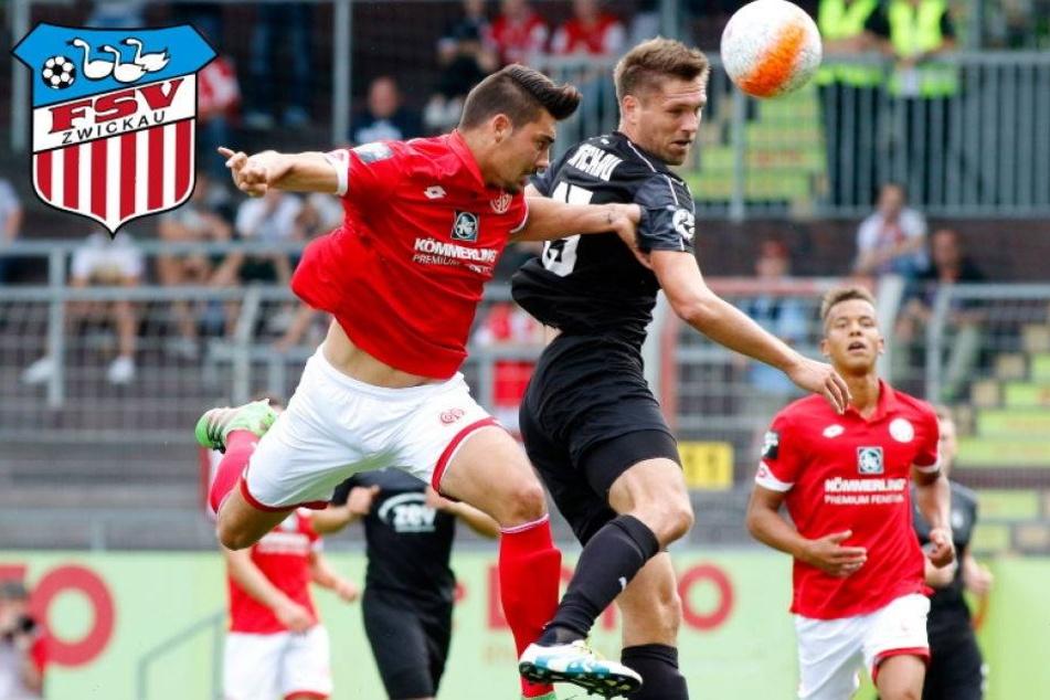 Bitter! Zwickau verspielt in Mainz 2:0-Führung