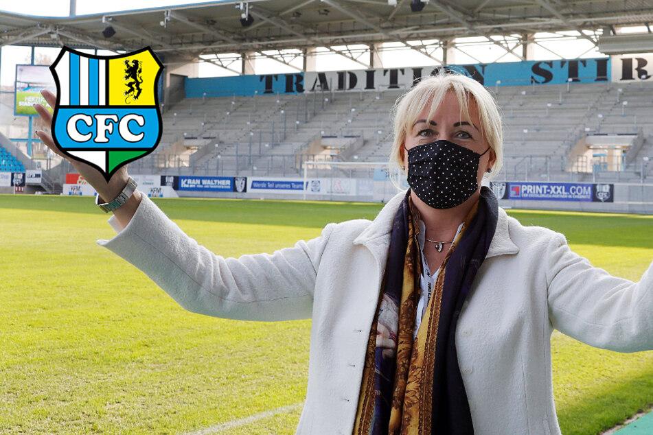 """CFC-Präsidentin Polster: """"Saison nach der Hinrunde beenden!"""""""
