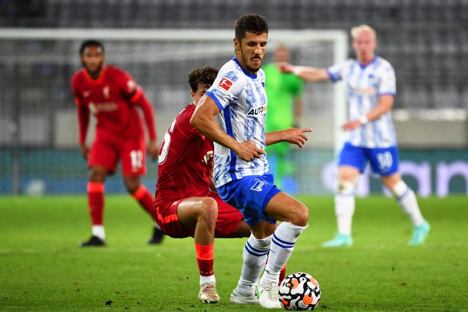 Stevan Jovetic (31) schlug bei Hertha BSC bislang voll ein, droht nun aber auszufallen.