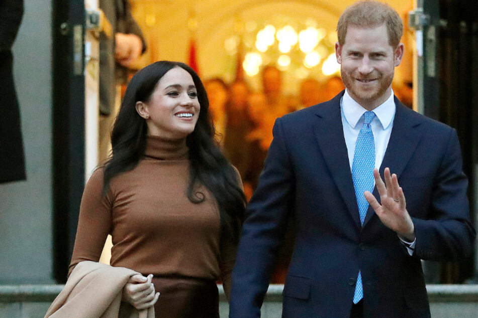 On the move again: Prince Harry and Duchess Meghan now live in Santa Barbara.