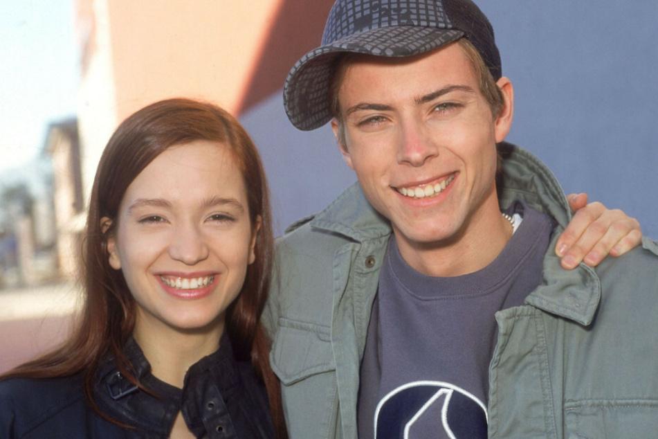 Lang ist es her: John Bachmann mit seiner Schwester Lena.