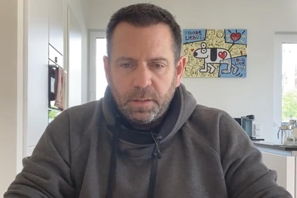 In einem emotionalen Video schildert Hüftgold seine Gedanken.