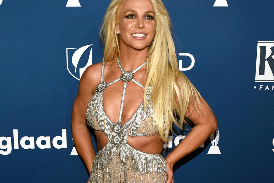 USA, Beverly Hills: Britney Spears (39) trifft bei den 29. GLAAD Media Awards ein.