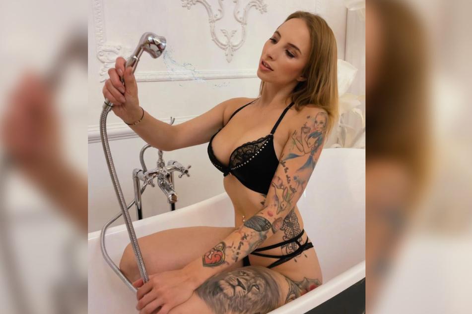 Die 25-Jährige arbeitet als Pornodarstellerin.
