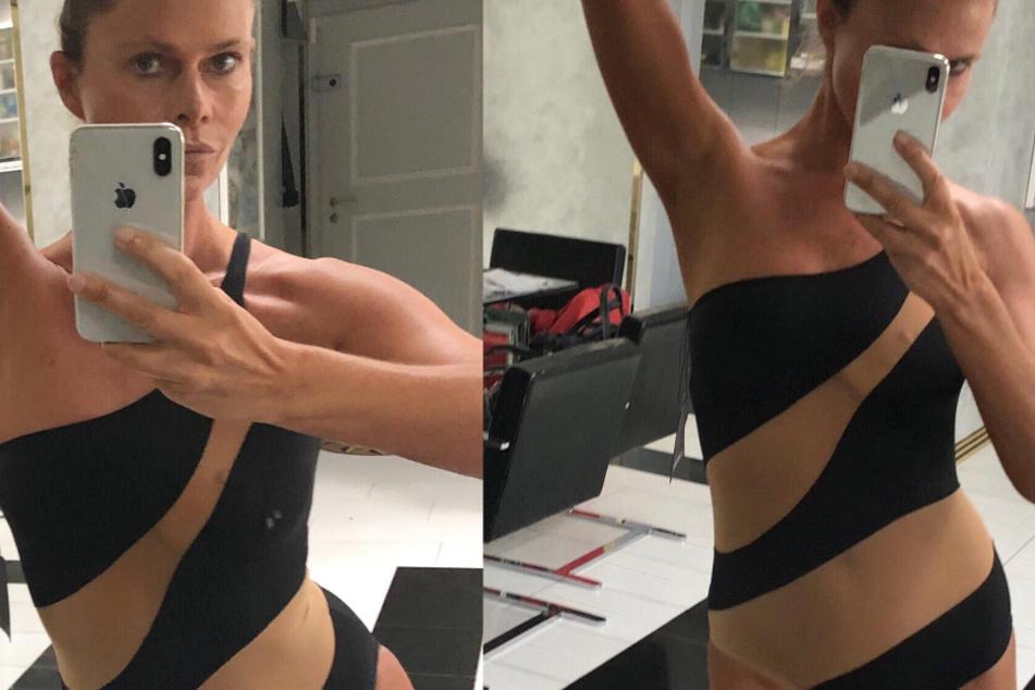 Nacktmodel Irina Beller soll Fisch gequält haben: Nun ermittelt sogar die Polizei!