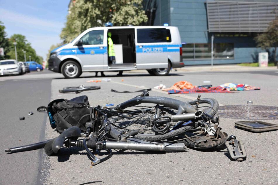 Der Radfahrer wurde schwer verletzt.