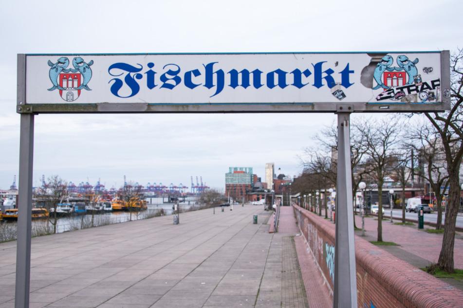 Der Hamburger Fischmarkt bleibt weiter geschlossen.
