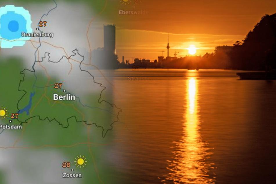 Unwetter-Alarm in Berlin und Brandenburg: Teils Gewitter und Hagel