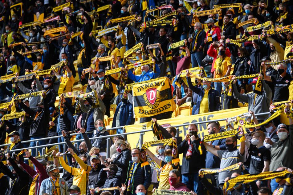 Die meisten der 10.035 Fans unterstützten Dynamo vorbildlich. Es waren aber auch immer wieder Unmutsäußerungen zu hören.