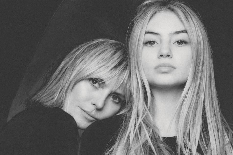 Heidi Klum (47) mit Tochter Leni (16).