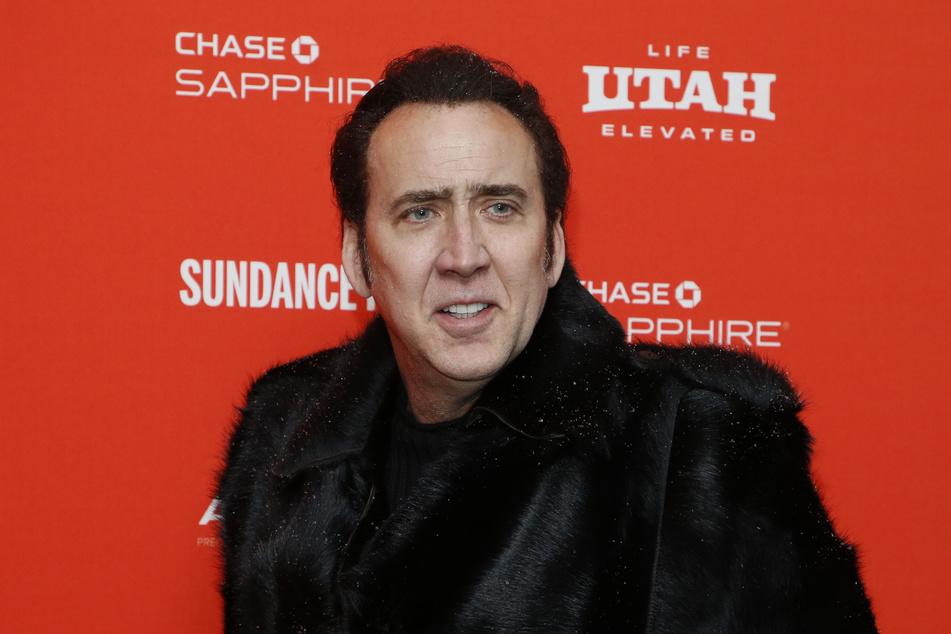 Nicolas Cage (57) hat sich in Las Vegas nicht gerade von seiner besten Seite präsentiert.