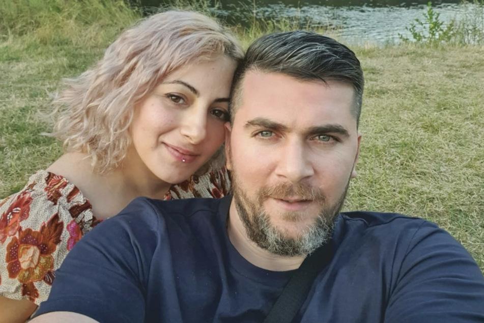 An der Elbe sind sie zu Hause: Ilia und Ilona Imerlishvili (beide 33) wurden von Pirna nach Georgien abgeschoben.