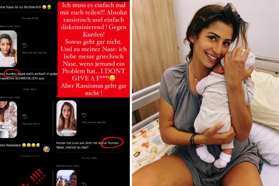 Eva Benetatou (29) ist frisch gebackene Mama eines kleinen Sohnes. Im Netz sieht sich die 29-Jährige regelmäßig widerlichen und rassistischen Kommentaren ausgesetzt.