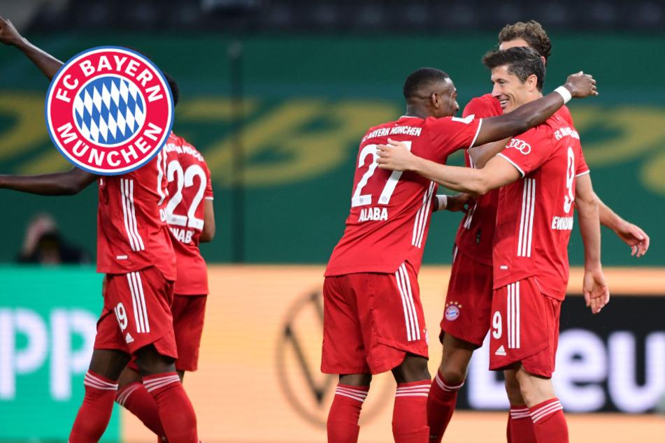 Torfestival! FC Bayern krönt sich gegen Leverkusen zum Pokalsieger