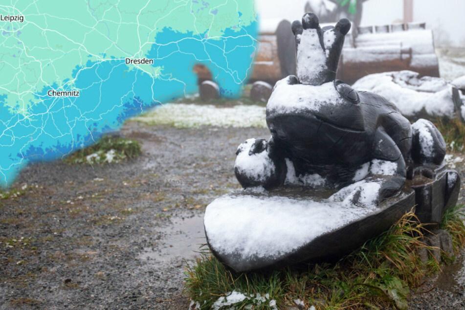 Schnee und Sturm: So wird das Wetter in Sachsen
