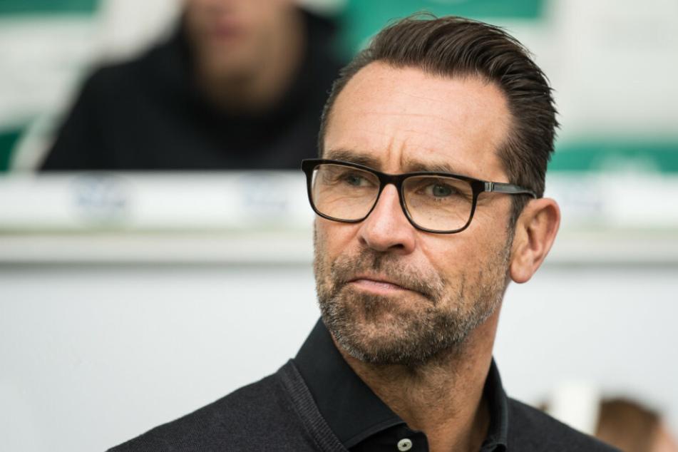 Hertha-Manager Michael Preetz (53) ist noch auf der Suche nach Verstärkung für die Offensive der Berliner.