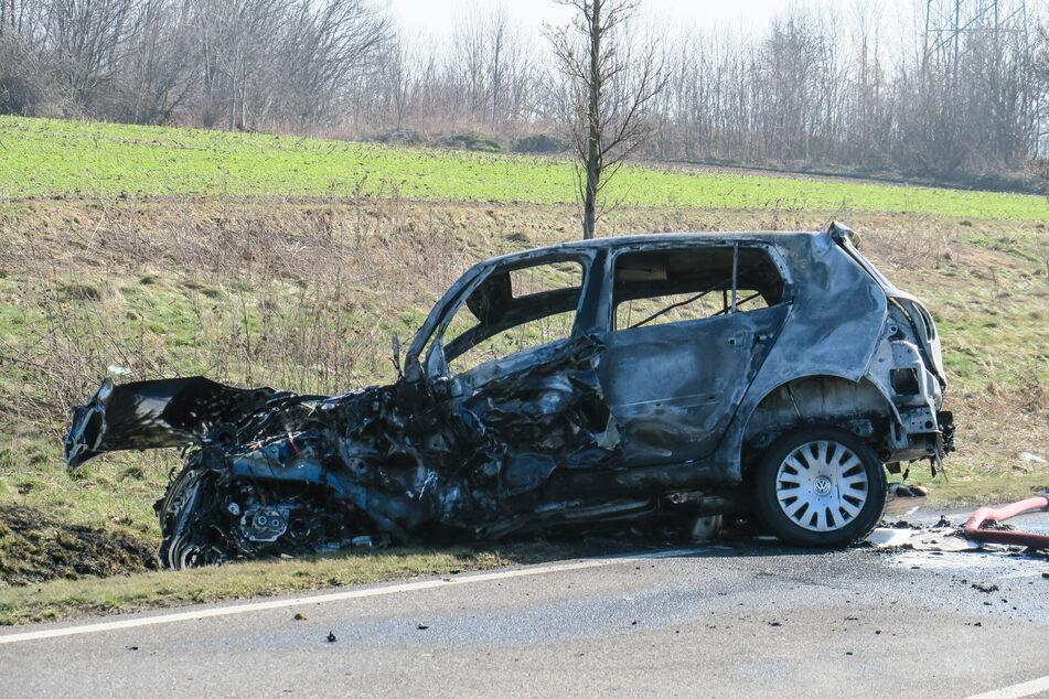 Nach tödlichem Unfall bei Wildenfels: Identität des verbrannten Fahrers geklärt