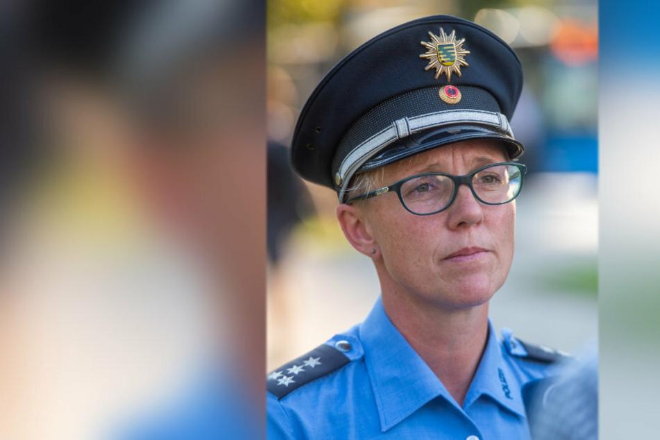 Polizeisprecherin Jana Ulbricht (43) und ihre Kollegen haben bisher noch keine heiße Spur.