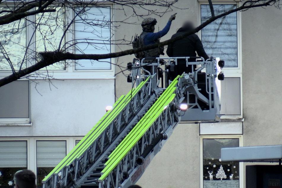In Erkrath mussten am Donnerstag Spezialeinsatzkräften der Polizei anrücken.