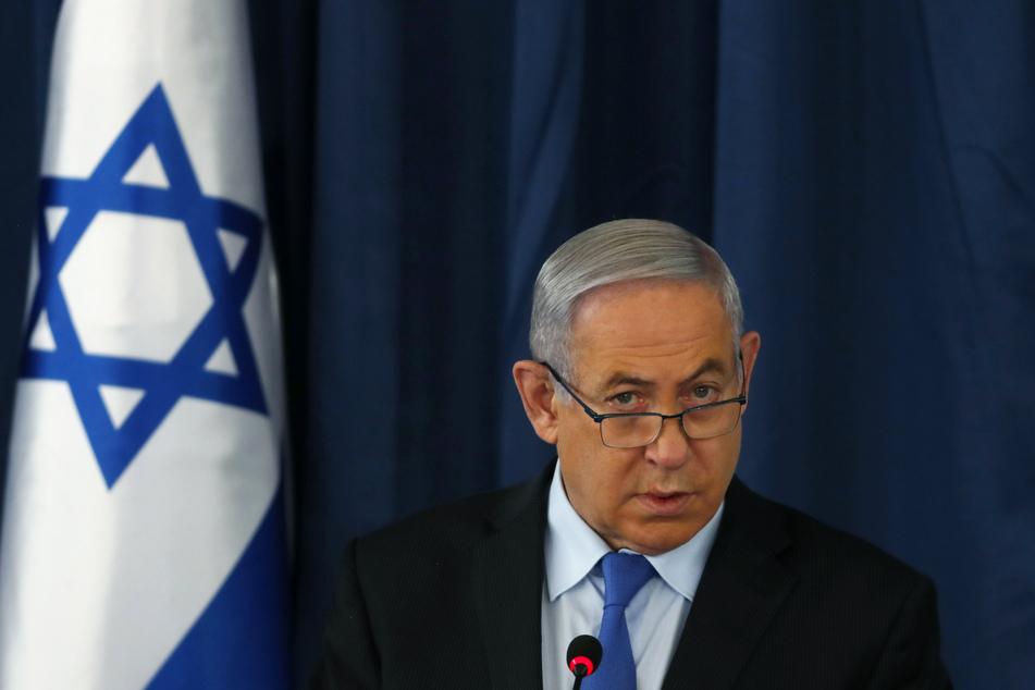 28. Juni, Jerusalem: Benjamin Netanjahu, Premierminister von Israel, nimmt an der wöchentlichen Kabinettssitzung teil.