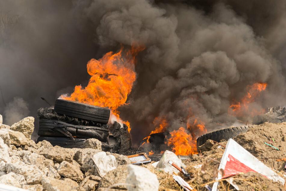 Laut dem Bundesumweltministerium wurden seit 2007 keine gebrauchten Reifen zur Entsorgung nach Kuwait exportiert. (Symbolbild)