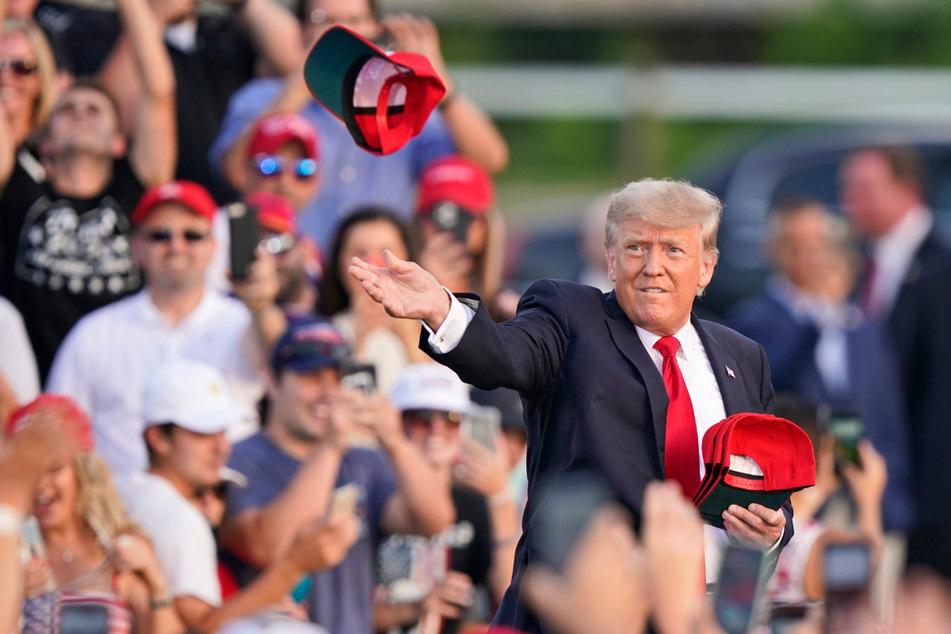 Trumps Anhänger feierten ihn am Wochenende immer noch genauso frenetisch wie eh und je.