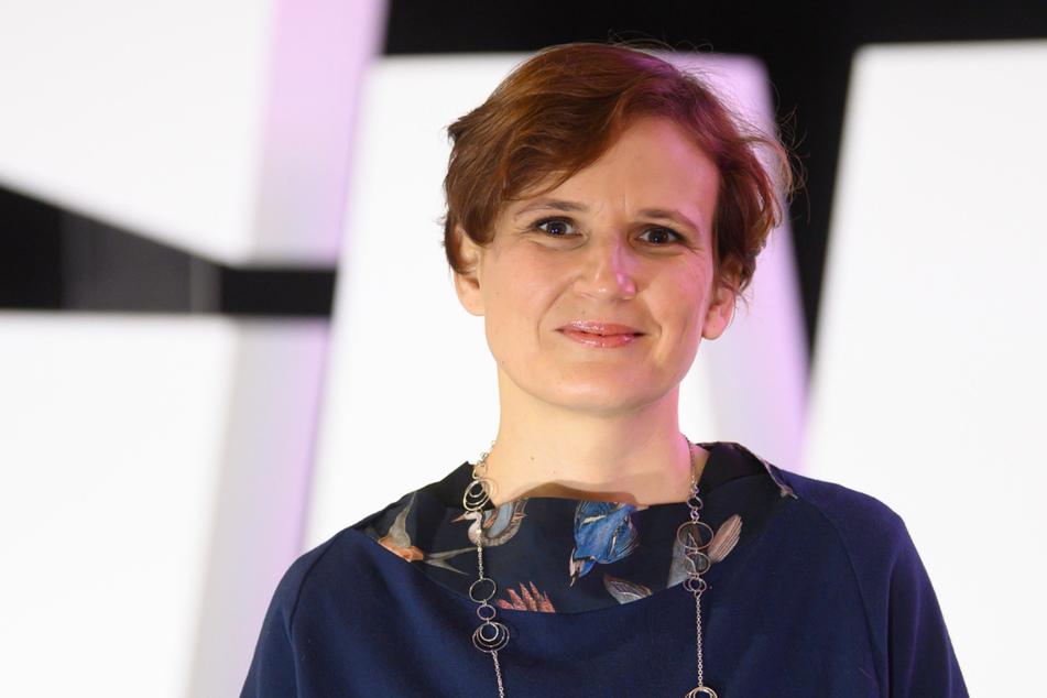 Katja Kipping (43) erhielt auf einem Parteitag in Dresden 75 Prozent der Delgiertenstimmen.