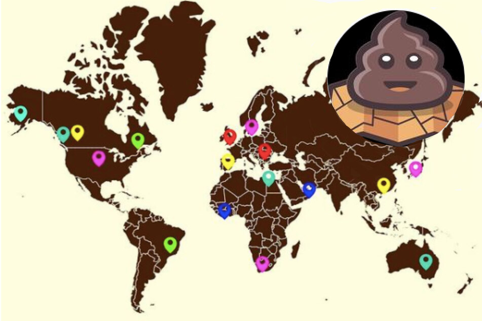 App users can track their poops anywhere in the world.