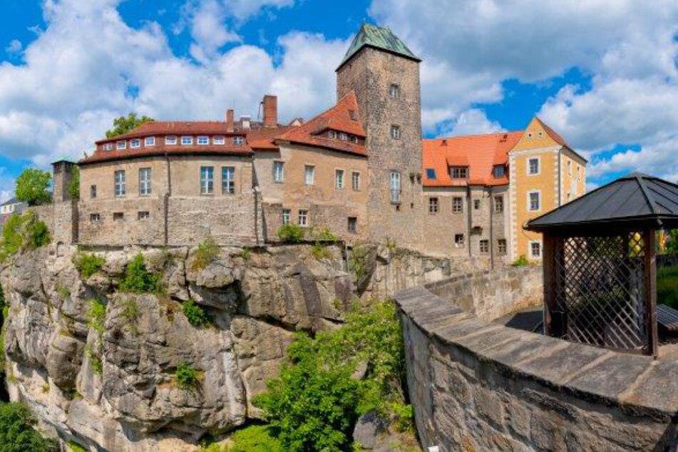 Romantisch: die Burg Hohnstein.