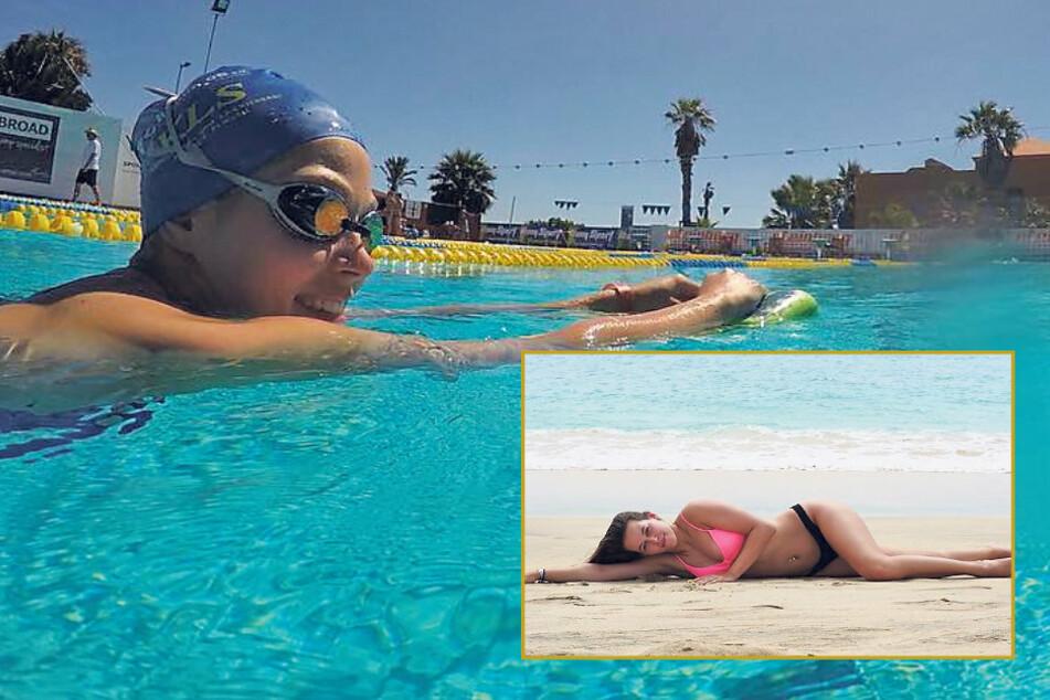 Schwimm-Ass will Miss Sachsen werden und danach vielleicht Kommissarin