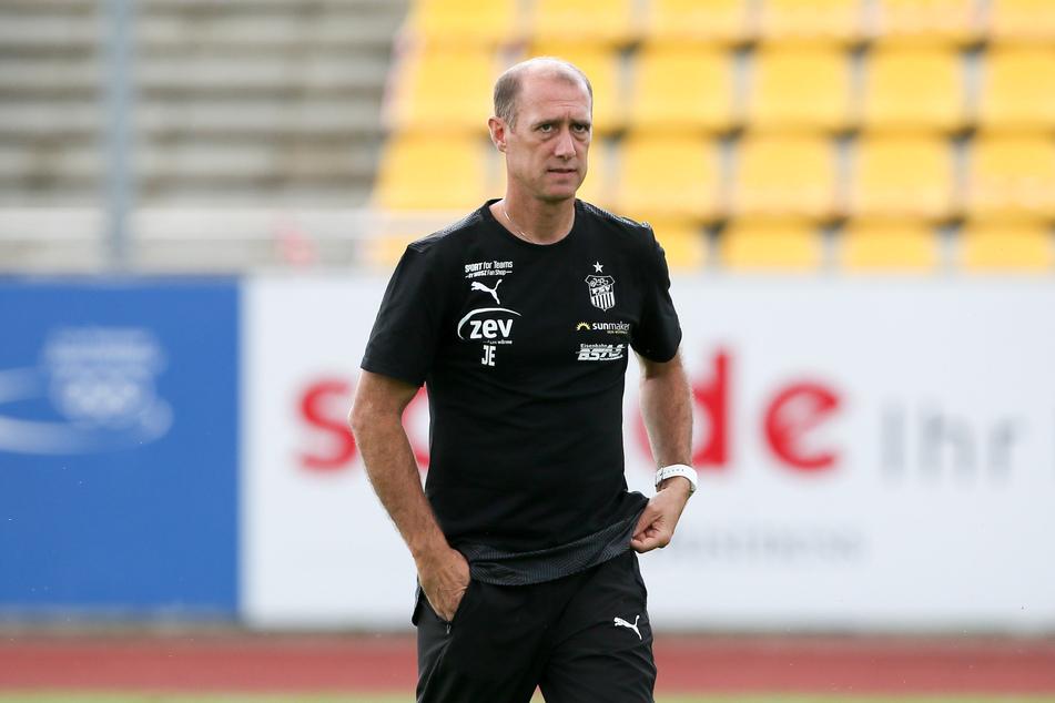 Coach Joe Enochs.