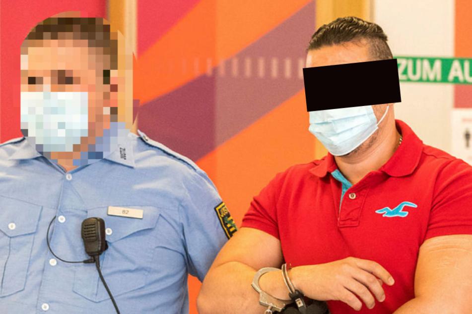 Dresden: Geldstrafe für Knast-Rotzer Yassine