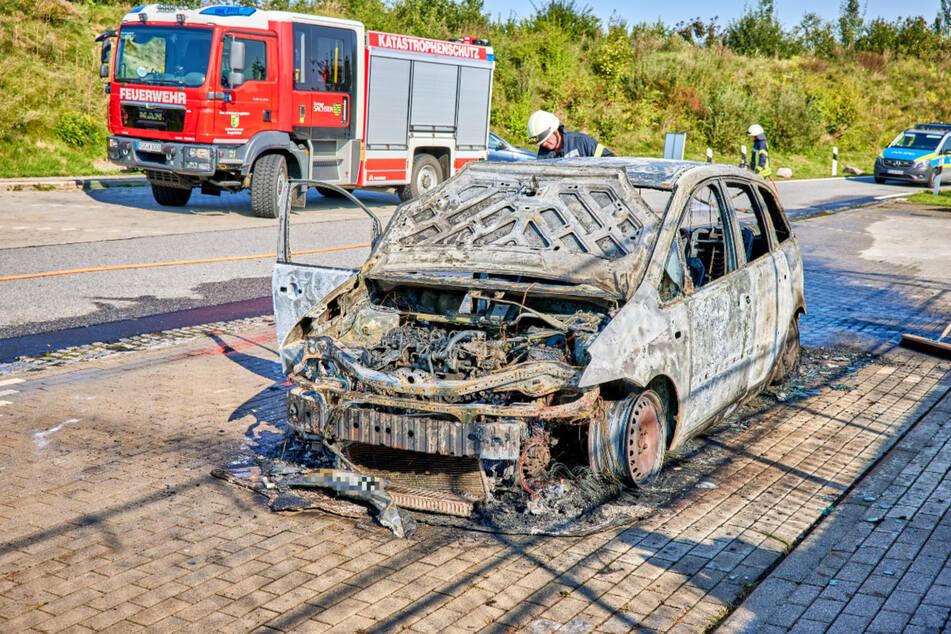 Die Polizei ermittelte einen technischen Defekt als Brandursache.