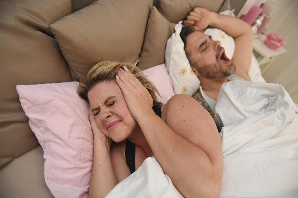 In addition to snoring, sleep talking or walking can ruin a good night's sleep.