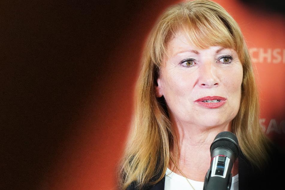 Petra Köpping, Sozialministerin (SPD, 62).