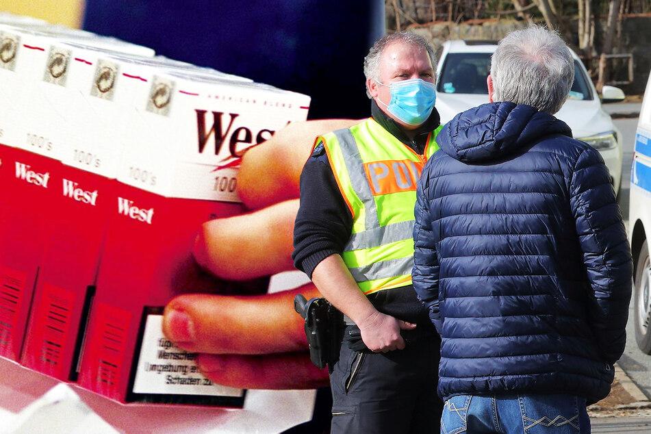 Billig-Zigaretten übern Grenzzaun gereicht: Polizei macht Jagd auf Käufer und Händler!