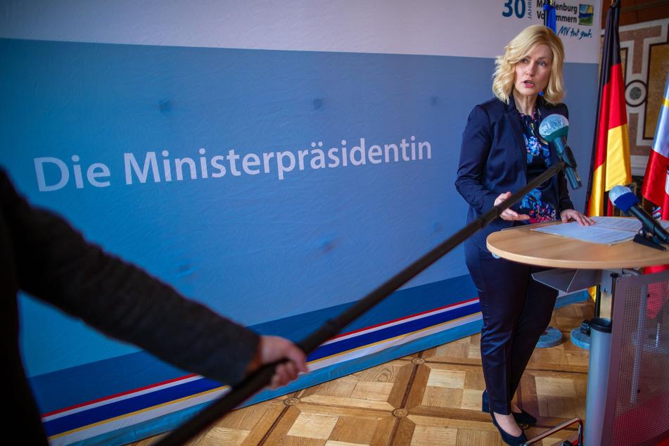 Manuela Schwesig (SPD), die Ministerpräsidentin von Mecklenburg-Vorpommern.