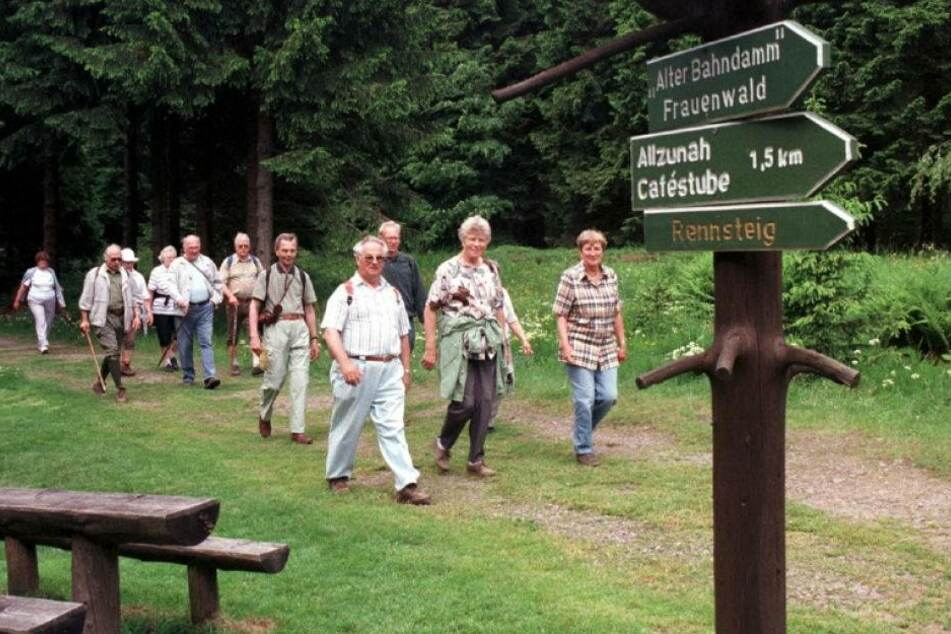 Thüringer Wald bei Touristen immer unbeliebter