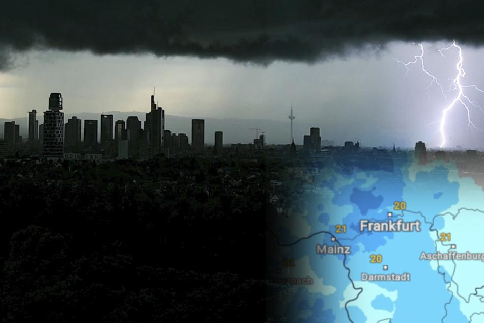 Achtung! Am Sonntag drohen Unwetter mit Sturmböen und Hagel