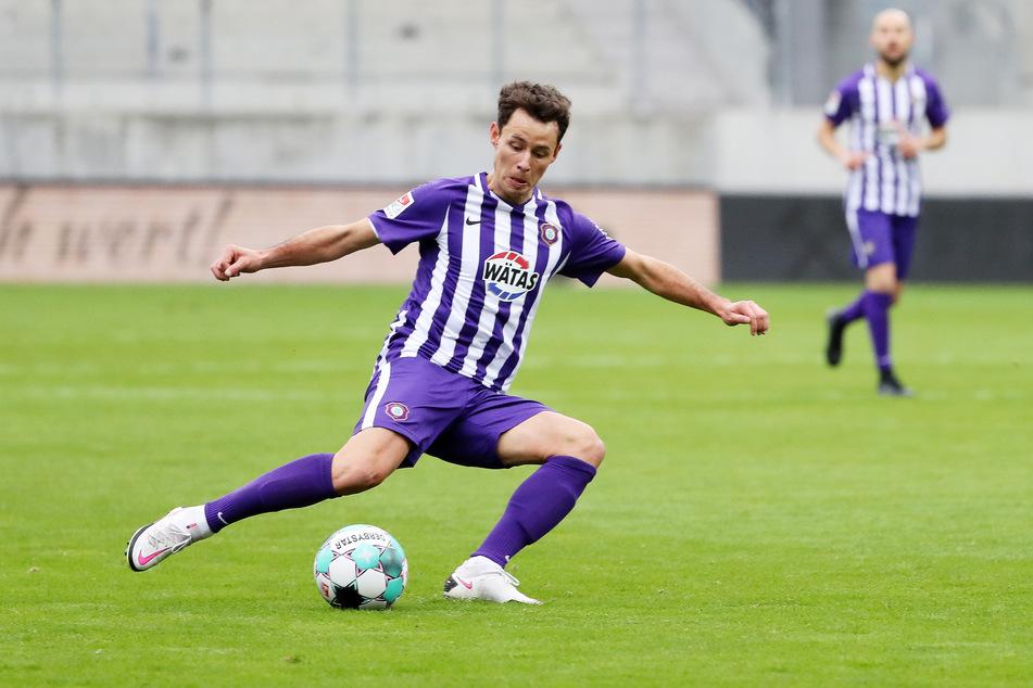 Gegen Heidenheim kam der 29-Jährige zu Beginn der zweiten Halbzeit ins Mittelfeld.