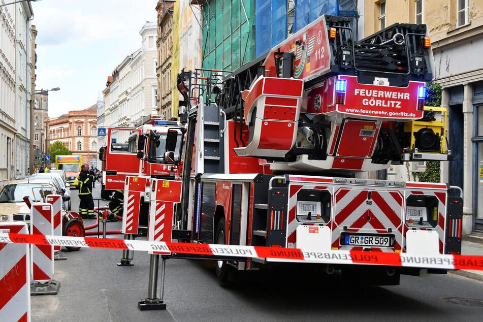 Mann stirbt bei Wohnungsbrand in Sachsen