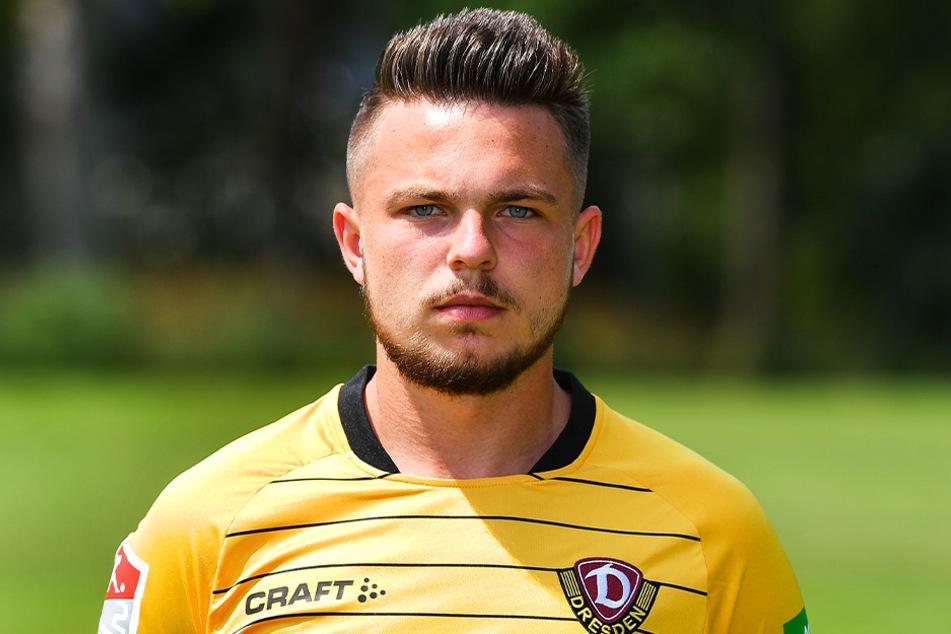 Vasil Kusej (21) war zuletzt nicht mehr im Dynamo-Trikot zu sehen, spielte in der 2. Liga in Tschechien.