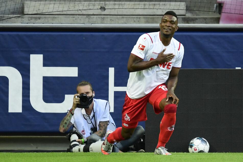 Torjäger Jhon Cordoba (27) hat beim 1. FC Köln noch einen Vertrag bis 2021.