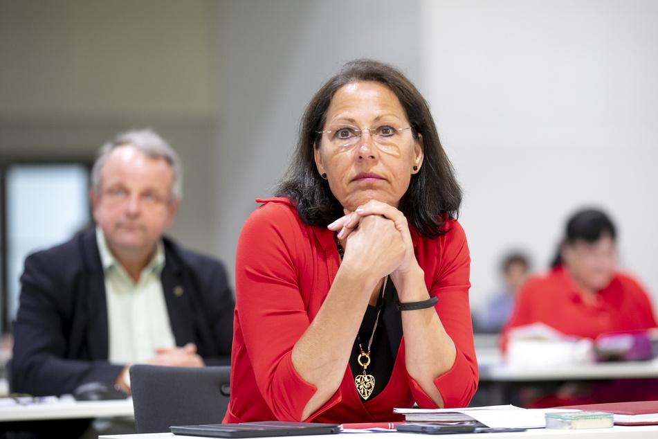 Petra Nikolov (55), kulturpolitische Sprecherin der Dresdner CDU.